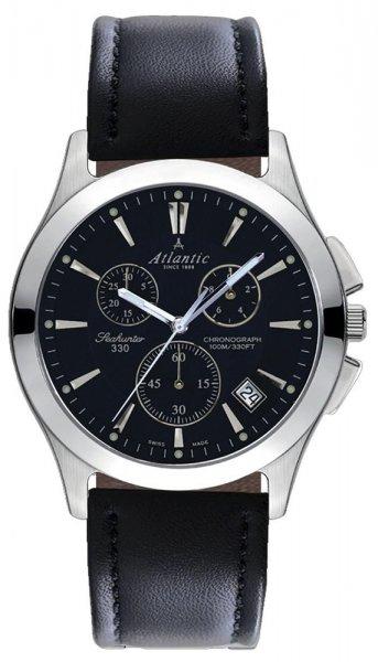 Zegarek męski Atlantic seahunter 71460.41.61 - duże 1
