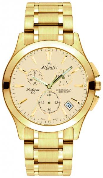 Zegarek męski Atlantic seahunter 71465.45.31 - duże 1