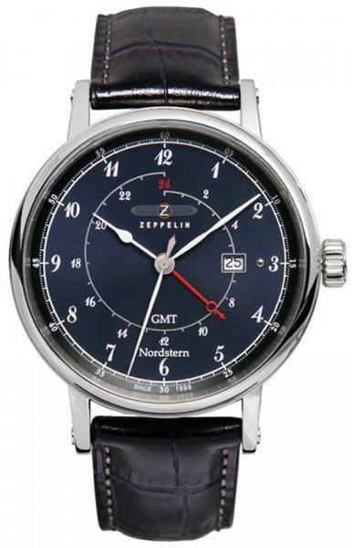 Zegarek męski Zeppelin nordstern 7546-3 - duże 3