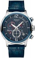 Zegarek męski Atlantic seasport 87461.47.55 - duże 1