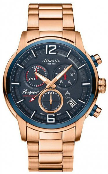 Zegarek Atlantic 87466.44.55 - duże 1