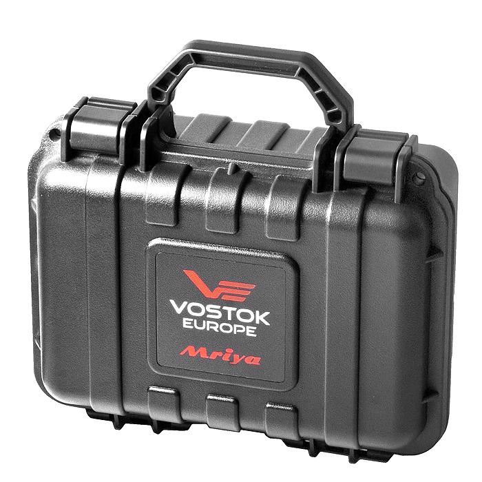 Zestaw Vostok Europe z wodoszczelną walizką.