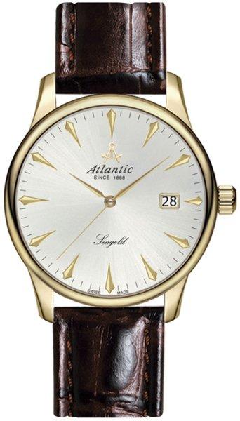 Zegarek męski Atlantic seagold 95343.65.21 - duże 3