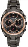 Zegarek męski Bulova curv 98A158 - duże 1