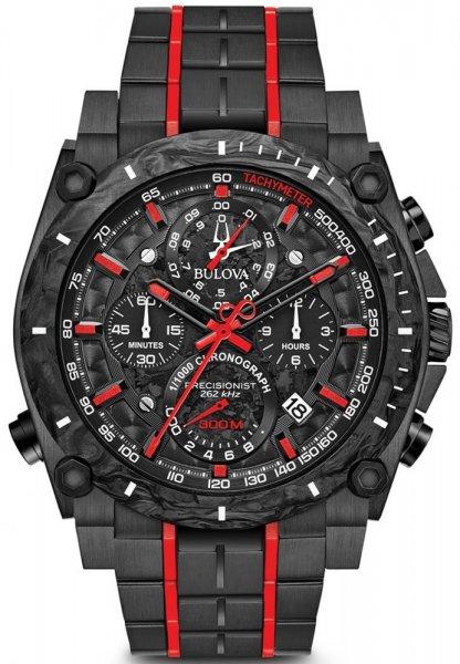 Zegarek męski Bulova precisionist 98B313 - duże 3