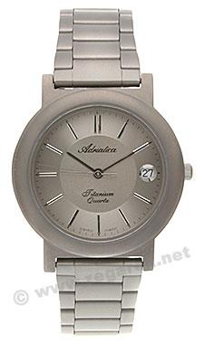 Zegarek męski Adriatica tytanowe A1017.4113Q - duże 1