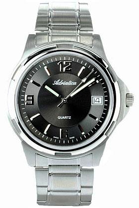 Zegarek męski Adriatica bransoleta A1048.5156 - duże 1