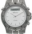 Zegarek męski Adriatica tytanowe A1056.4113 - duże 2
