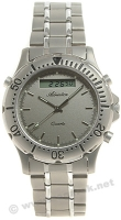 Zegarek męski Adriatica tytanowe A1056.4117 - duże 1