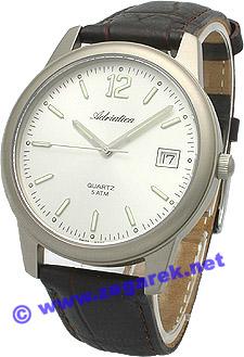 Zegarek męski Adriatica tytanowe A1063.4253Q - duże 1