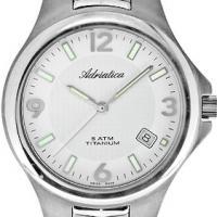 Zegarek męski Adriatica tytanowe A1068.4153Q - duże 2