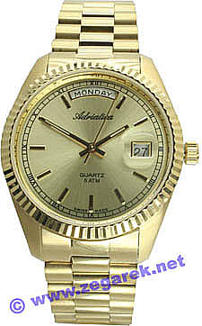 Zegarek męski Adriatica bransoleta A1090.1111 - duże 1