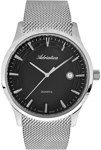 Zegarek męski Adriatica bransoleta A1100.5114Q - duże 1