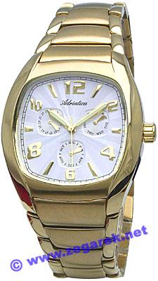 Zegarek męski Adriatica bransoleta A1107.1153QF - duże 1