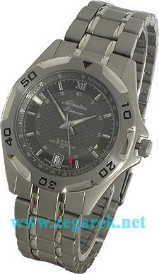 Zegarek męski Adriatica tytanowe A11098.4164 - duże 1
