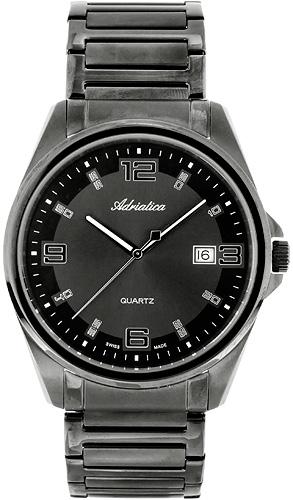 Zegarek męski Adriatica bransoleta A1128.B1226Q - duże 1