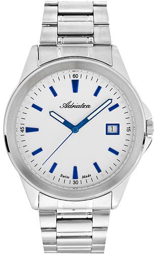 Zegarek męski Adriatica bransoleta A1163.51B3Q - duże 1