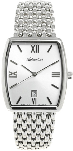 Zegarek męski Adriatica bransoleta A1221.5163Q - duże 1