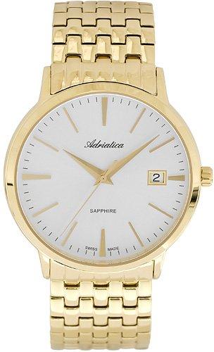 Zegarek męski Adriatica bransoleta A1243.1113QS - duże 1