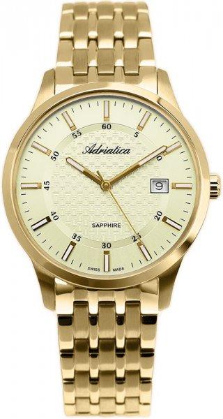 Zegarek męski Adriatica bransoleta A1256.1111Q - duże 1