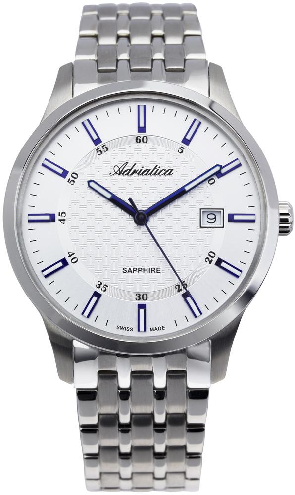 Zegarek męski Adriatica bransoleta A1256.51B3Q - duże 1