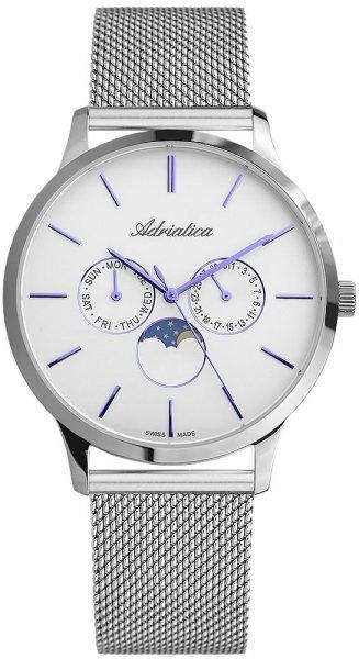 Zegarek Adriatica Moonphase - męski - duże 3