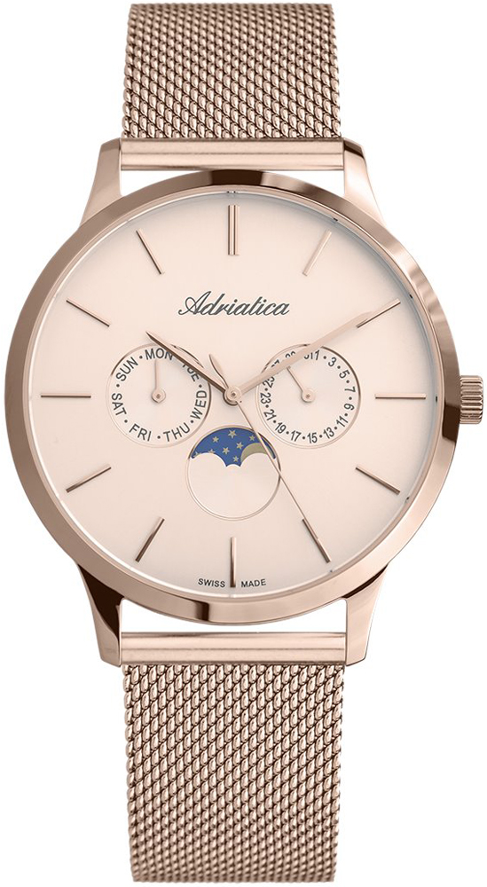Zegarek męski Adriatica bransoleta A1274.911RQF - duże 3