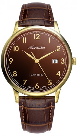 Zegarek męski Adriatica pasek A1280.122GQ - duże 1
