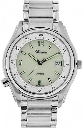 Zegarek męski Adriatica bransoleta A13206.5152Q - duże 1