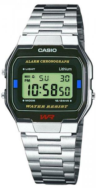 Zegarek Casio A163WA-1QES - duże 1