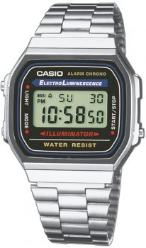 zegarek unisex Casio Retro A168WA-1YES