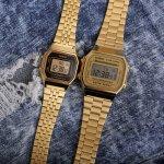Zegarek męski Casio retro A168WG-9EF - duże 4