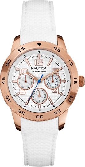 Zegarek damski Nautica pasek A18696M - duże 1