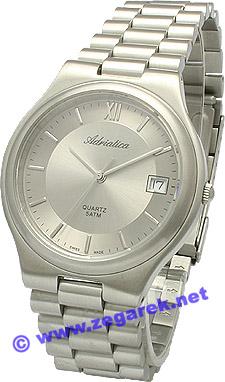 Zegarek męski Adriatica bransoleta A2002.5167Q - duże 1
