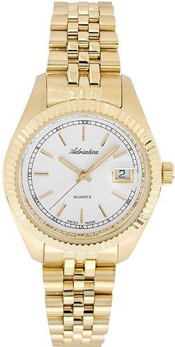 Zegarek damski Adriatica bransoleta A3090.1113Q - duże 1