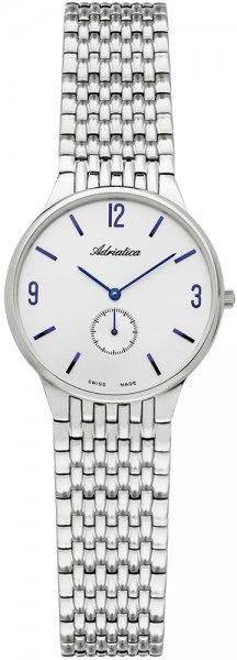 Zegarek damski Adriatica bransoleta A3129.51B3Q - duże 3