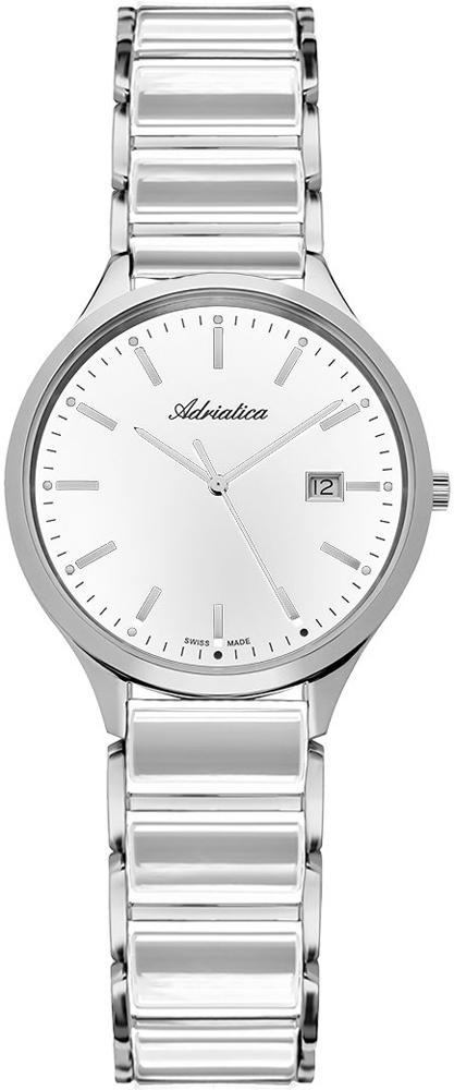 Zegarek damski Adriatica bransoleta A3149.C113Q - duże 1