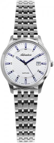Zegarek damski Adriatica bransoleta A3156.51B3Q - duże 1
