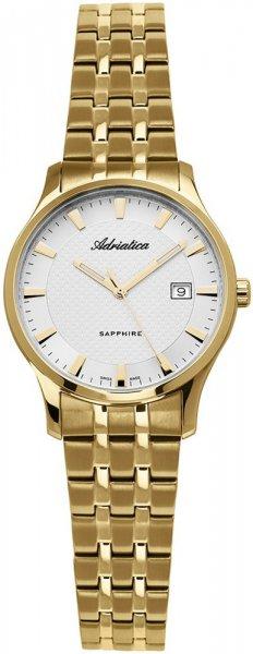 Zegarek damski Adriatica bransoleta A3158.1113Q - duże 1
