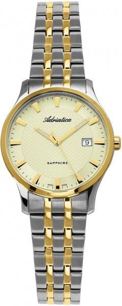 Zegarek damski Adriatica bransoleta A3158.2111Q - duże 1