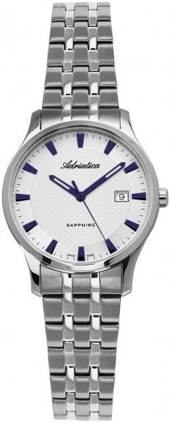 Zegarek damski Adriatica bransoleta A3158.51B3Q - duże 1