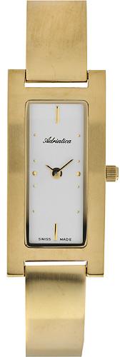 Zegarek damski Adriatica bransoleta A3255.1193Q - duże 1