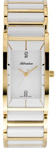 Zegarek damski Adriatica bransoleta A3397.D113Q - duże 1