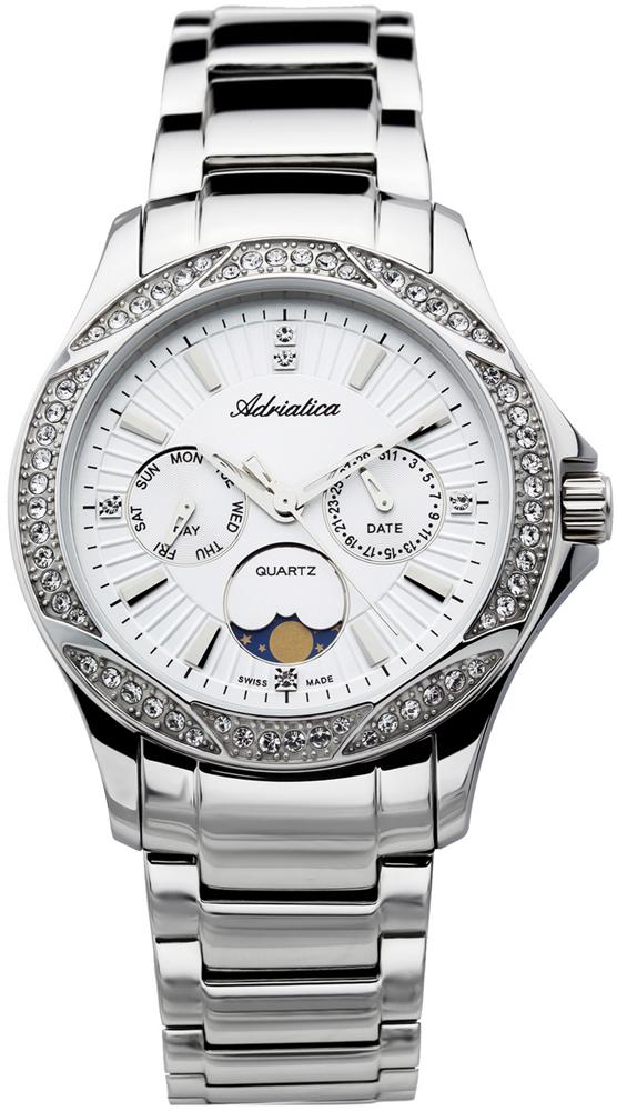 Zegarek damski Adriatica bransoleta A3420.5113QFZ - duże 1