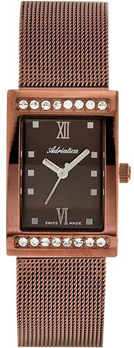 Zegarek damski Adriatica bransoleta A3441.018GQZ - duże 1