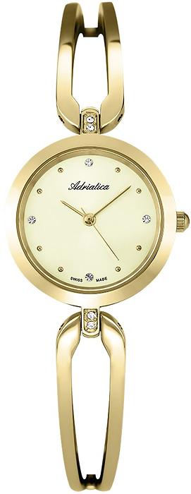 Zegarek damski Adriatica bransoleta A3506.1141QZ - duże 1