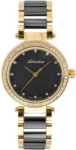 Zegarek damski Adriatica bransoleta A3576.F144QZ - duże 1