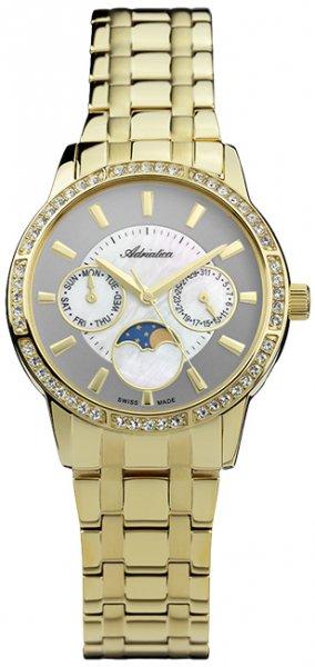Zegarek damski Adriatica bransoleta A3601.111ZQFZ - duże 1