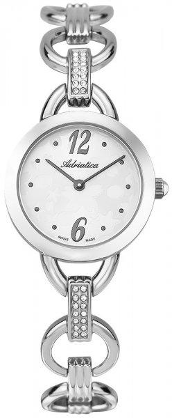 Zegarek damski Adriatica bransoleta A3622.5173QZ - duże 3