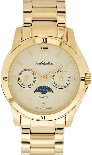 Zegarek damski Adriatica bransoleta A3626.1151QFZ - duże 1